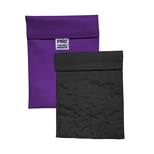 FRIO Kühltasche für Insulin, 14 x 19cm, lila - KEIN Eispack oder Batterien nötig, für bis zu 4 Insulinpens in Standardgröße ODER eine Kombinationen von Pens, Ampullen oder Patronen ODER 3 Epi Pens