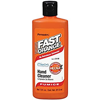 Permatex 25108 Fast Orange Pumice Lotion Hand Cleaner 7.5 oz.