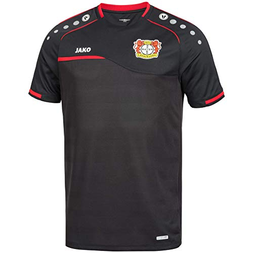 JAKO Prestige Bayer 04 Leverkusen Training Trikot (XL, schwarz)
