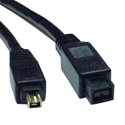Tripp Lite FireWire 800 IEEE 1394b Hi-speed Cable (9pin/4pin) 6-ft.(F019-006)