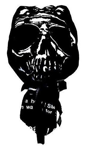 Black-tribal Bandana Casquette préformée Moto Paintball Foot Dessin tête de Mort Skull Crane