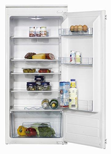 Amica EVKS16175 Kühlschrank/A++ / 122,1 cm Höhe / 99 kWh/Jahr / 206 Liter Kühlteil / 4 Glasablagen Sicherheitsglas mit Rahmen/weiß