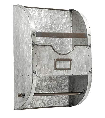 Placa de identificación de metal rústica para baño y cocina, soporte para papel higiénico, toallas, revistas