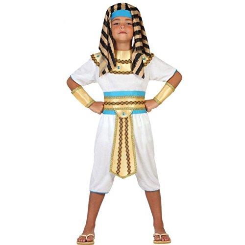Atosa-23306 Disfraz Egipcio, color dorado, 7 a 9 años (23306)
