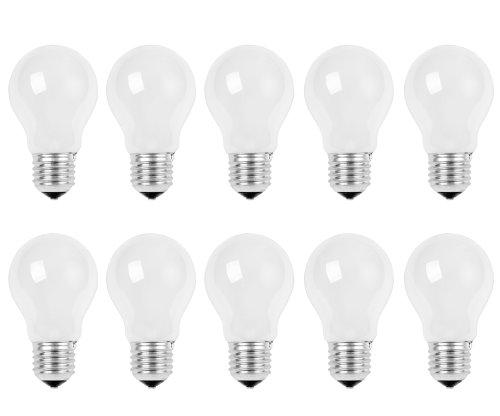 10 x Glühbirne 60W E27 MATT Glühlampe Glühbirnen Glühlampen 60 Watt