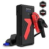 Arrancador Bateria Coche, JUMTOP 22000Mah 3000A Pico Arrancador Coche, Arranque...