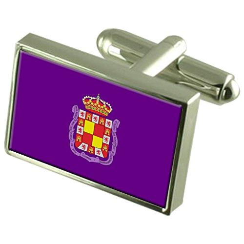 Select Gifts Jaén Ciudad Bandera España Cuadro Grabado Gemelos