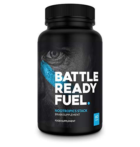 Battle Ready Fuel Nootropics Stack Brain Nutritional Supplement (60 Capsules)