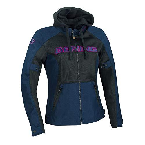 Bering, giacca da moto da donna Spirit, colore: nero