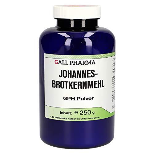 Johannesbrotkernmehl GPH Pulver | 100 % Johannisbrotkernmehl | Ideal zum Backen | Bindemittel | glutenfrei, lactosefrei | geschmacksneutral | pflanzlich | 250 g
