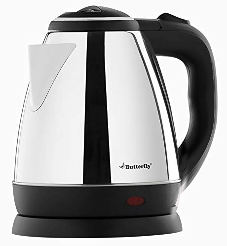 Butterfly EKN 1.5-Litre Water Kettle (Silver with Black)