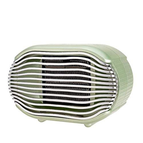 LAJIOJIO Heizlüfter Elektrische 800Watt Keramik PTC intelligent Thermostat Kleine Heizung Tragbare Energie sparen Leise für Bürotisch und den Heimgebrauch
