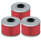 HIFROM Oil Filter Replacement for Kawasaki KX450F KLX140 KLX125 KLX110 KSR110 KLX250R KLX300R KLX450R KLX250SF Suzuki DRZ110 Replace HF112 KN112