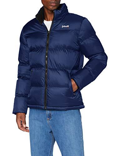 Schott NYC Idaho Chaqueta, Azul Real, Large para Hombre