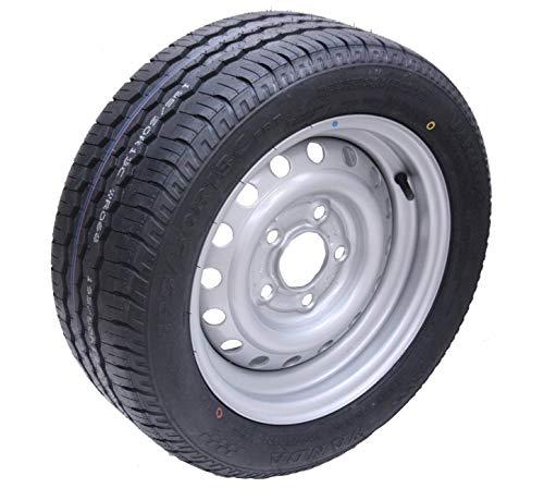 Parnells 195/50R13C Anhänger Rad und Reifen, 5 Stud. 112mm Pcd - Wanda WR068 900kg Reifen