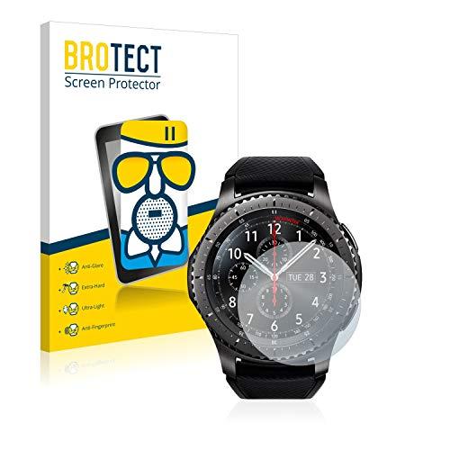 brotect Pellicola Vetro Opaca Compatibile con Samsung Gear S3 Frontier   S3 Classic Protezione Schermo Anti-Riflesso Durezza 9H, AirGlass