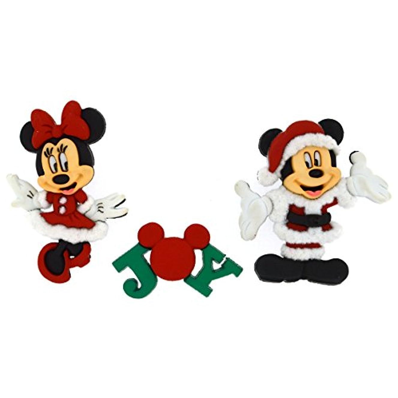 Dress It Up 8235 Disney Button & Embellishments, Mickey & Minnie