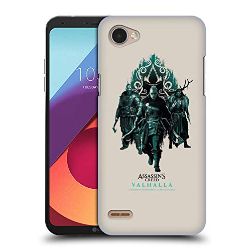 Head Case Designs Officially Licensed Assassin's Creed Carvings and Paint Valhalla Compositions and Patterns Hard Back Case Compatible with LG Q6 / Q6 Plus