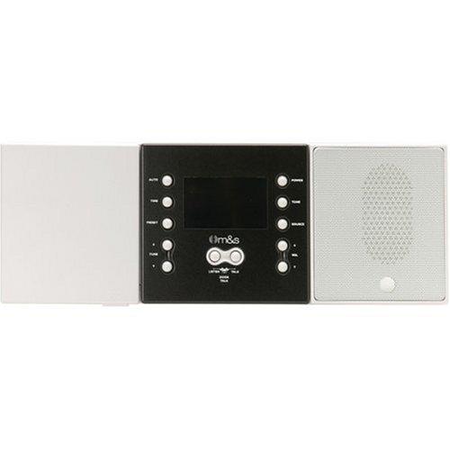 M&S Systems DMC3-4 3-or 4-Wire Retrofit Music/Communication System Master Unit (White) - DMC3-4