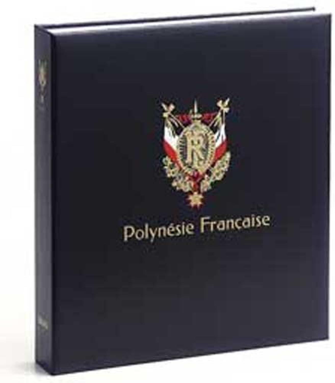 DAVO 3843 Luxus Briefmarkenalbum Franz. Polynesien III