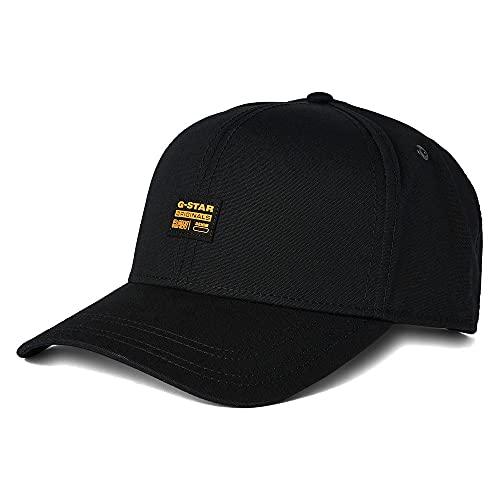 G-STAR RAW Herren Originals Baseball Cap, Black (dk Black C693-6484), One Size