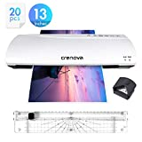 Crenova 13 Inches Laminator A3 with Paper Cutter