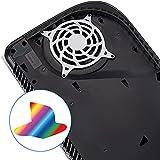 Logo Underlay Sticker para PS5 Logo Galvanoplastia Pegatina Skin Host Film para PS5 Decal Skins para PS5 Console