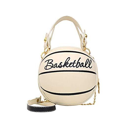 Sac à main en forme de ballon de basket - Pour femme -...