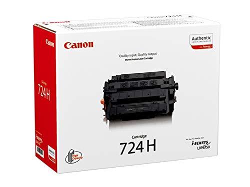1x Original Toner fuer Canon I Sensys LBP 6780X CRG724, CRG 724, 3482B002 - Leistung: ca. 12000 Seiten