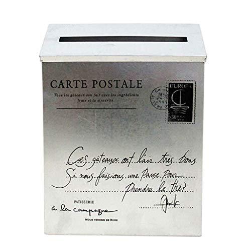 Yxsd grote brievenbus kooi brievenbus manden deur post post houder beschermer stad landelijk postbussen - 23 X 6 X 30 Cm