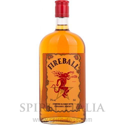 Fireball Licor 33,00% 0.7 l.