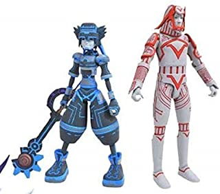 DIAMOND SELECT TOYS MAY188251 Kingdom Hearts Select: Space Paranoids Sora & Sark Action Figure Two Pack, Multicolor (Pack of 2)