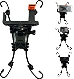 3 in 1 Action Camera Chain Link Fence Mount for Waterproof Action Camera/Digital Camera/Smartphone - Ideal Backstop Camera Mount for Recording Baseball,Basketball,Softball and Tennis Games