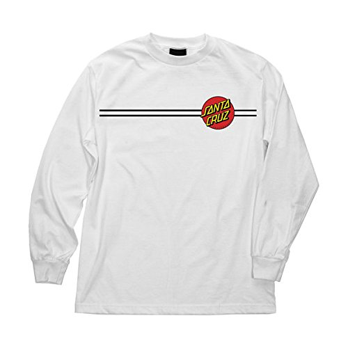 NHS Santa Cruz Classic Dot Mens Long Sleeve T-Shirts