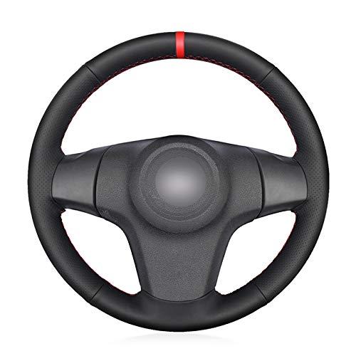 Pangtyus Lenkradbezug für Opel Corsa (D) 2006-2015 DIY Handgenähte Leder Lenkradabdeckung