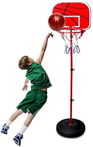 Aro de baloncesto para niños, canasta ajustable en altura, juego de baloncesto interior y exterior para niños pequeños 3-16-1.7m
