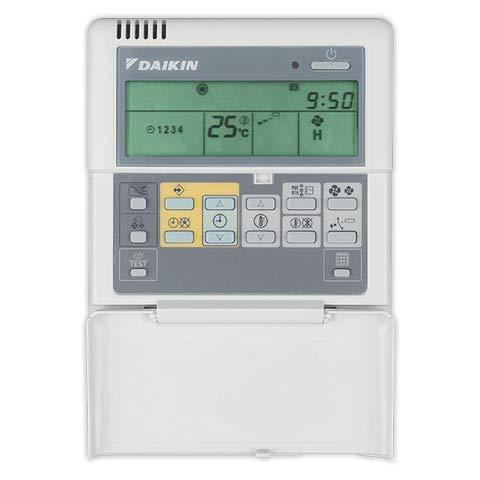 DOJA Industrial | Termostato de Pared DAIKIN BRC1D52 | por Cable | Temporizador para programar Puntos de Ajuste de calefacción y refrigeración