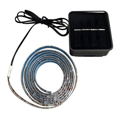 Abaodam 1. 5m Basketball Frame Sensor Light Strip Outdoor Solar Colorful LED Strip Light Creative Basketball Frame Decorative Lamp Strip (Black)