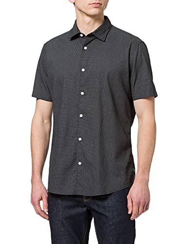 ESPRIT Mit Leinen/Coolmax®: Kurzarm-Hemd