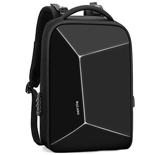 TADQ Backpack - Sac à Dos de Grande capacité pour Affaires en Plein air, Sac à Dos de Loisir pour Les Loisirs, Sac à Dos pour Ordinateur Portable de 15,6 Pouces (Color : Black)