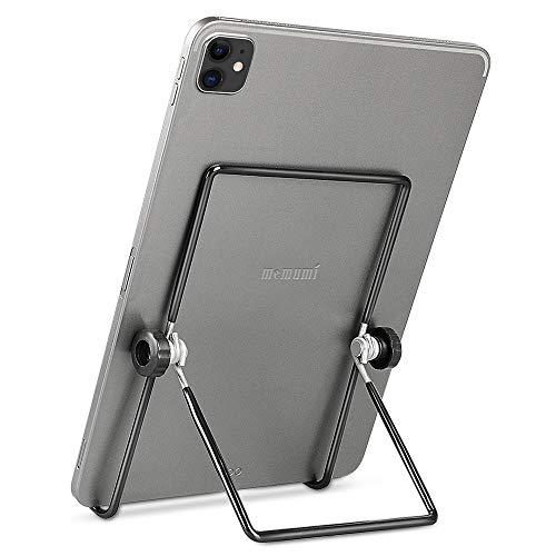 memumi Soporte Tablet, Universal Portátil Soporte Tablet Móvil 180° Multiángulo Soporte Movil Mesa Ajustable Soporte para iPad Pro 11 12.9 2020/para Samsung Tab y Todas Las Tabletas