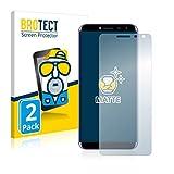 BROTECT 2X Entspiegelungs-Schutzfolie kompatibel mit Oukitel C8 Bildschirmschutz-Folie Matt, Anti-Reflex, Anti-Fingerprint