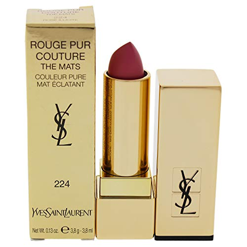 YSL Rouge Pur Couture The Mats N ° 224–Rose Illicite