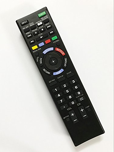 Replacement Remote Controller use for KDL-60W630B KDL-60W630B/2 Sony HD Smart LED TV