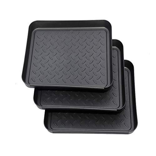 Dengofng Boot Mat Tray, 3PCS Multi-Purpose, Washable Floor Protection-Pet Bowls-Paint-Dog Bowls, Multi-Purpose, Shoes, Pets,...