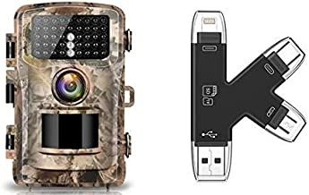 Campark Trail Camera and SD Card Reader