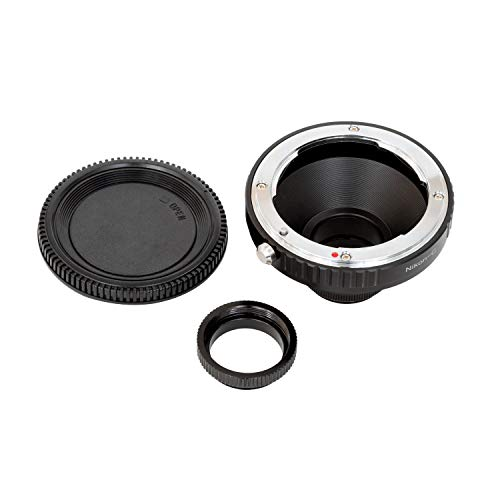 Arducam Lens Mount Adapter for Nikon F-Mount Lens to C-Mount Raspberry Pi HQ Camera