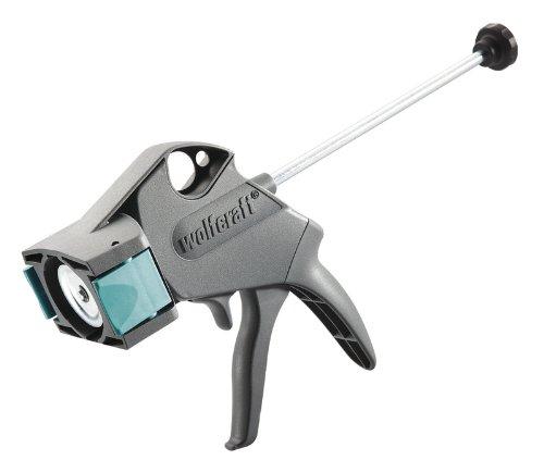 wolfcraft 1 MG 300 CLICK mechanische Kartuschenpresse 4355000 | Kompakte, ergonomische Kartuschenpistole mit automatischem Tropfstopp | Für 310 ml Kartuschen geeignet