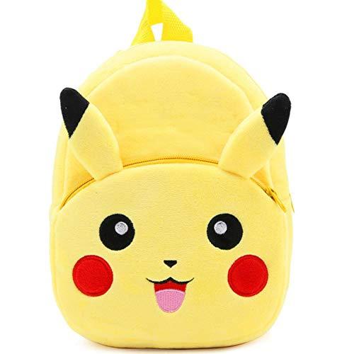 SELLA Nettes Kind Kleinkind Kind Schultaschen Rucksack Kindergarten Kinder Mädchen Jungen Schultasche 3D Cartoon Animal Bag, s Pikachu