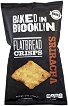 product image for Baked In Brooklyn, Flatbread Crisps, Sriracha, 6 oz (Pack of 2)
